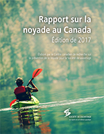 2017 Canadian Drowning Report Cover FR